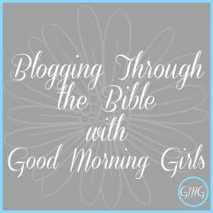 Blogging through the Bible – Esther 1-7 Week 1