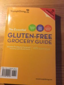 """New"" The Essential Gluten-Free Grocery Guide Review #triumphdining"