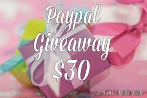 Paypal Giveaway 30 Simply at Home Mom