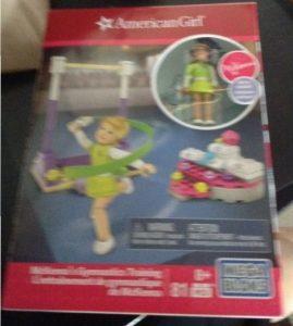 American Girl Review: McKenna's Gymnastics Training Mega Bloks Set!