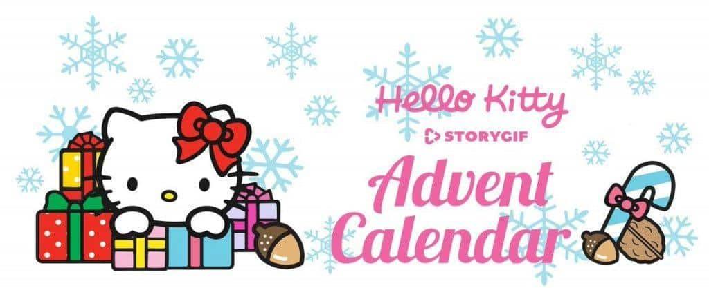Hello Kitty Digital Advent Calendar Available November 30