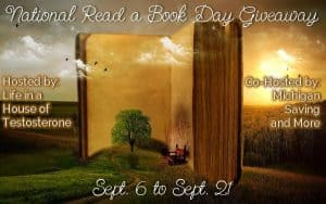 National Read a Book Day Giveaway Ends 9/21/15